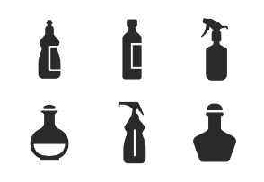 Liquid & bottles