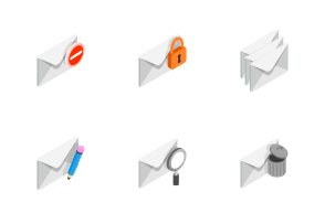 Mail - isometric