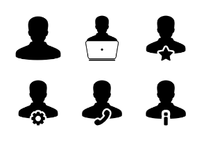 Man, Human, Person, User, Business Profile Avatars