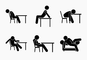 Man Sitting on Sofa, Couch, Table, and Chair Poses