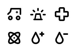 Medical Pictograms Set