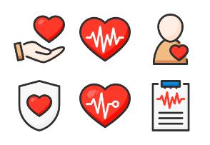 Medicine and heartbeat