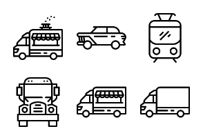 Modes of Transport - Lined