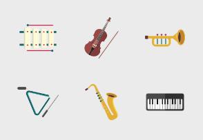Music instrument Flat