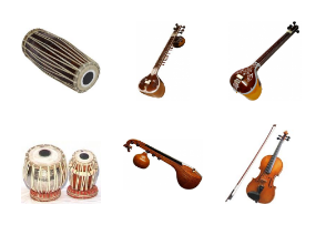 Musical instruments in INDIA