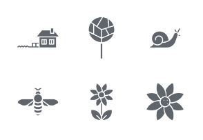 Spring and Outdoors - Glyph Style