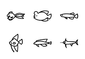 Outline Types of Fish