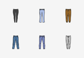 Pants & Shorts - Colored