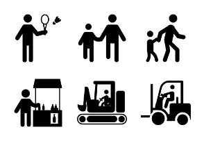 Pictograms Glyphs 5