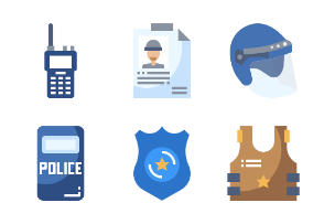 Police Flaticons