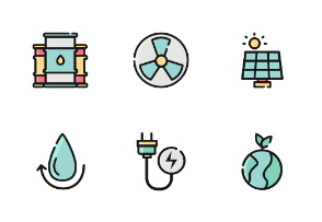 Power And Energy Color Iconset