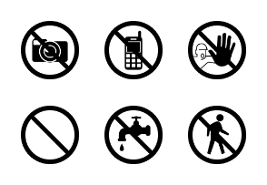 Prohibition and Warning Signs