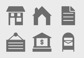 Real Estate Glyphs Set 1