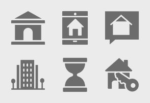 Real Estate Glyphs Set 5