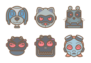Robot Avatars - Retro