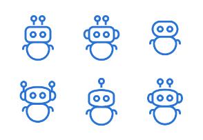 Robots avatars set