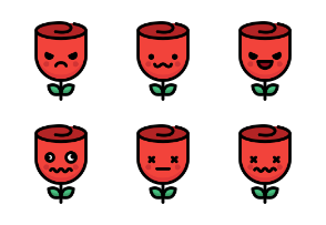 Rose Emoticons