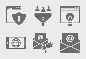 SEO and Business Glyph 1