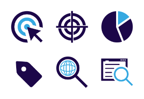 SEO and web icons