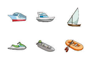 Ships and water transport