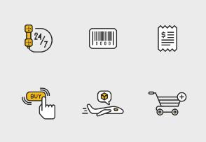 Shopping & E-Commerce Set