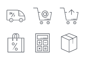 Shopping - Essential Icon Set