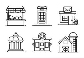 Shops Architecture and Real Estate