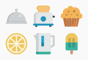 Smallicons: food