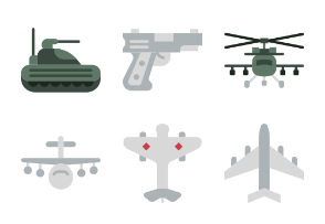 Smashicons Badges & Army - Flat - Vol 2