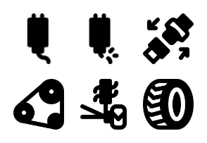 Smashicons Car Parts MD - Solid