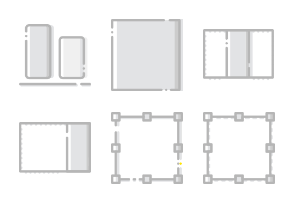 Smashicons Design - Greyscale - Vol 2