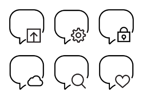Smashicons Interactions - Outline - Vol 3
