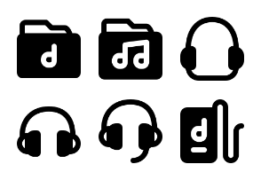 Smashicons Music 2 MD - Solid