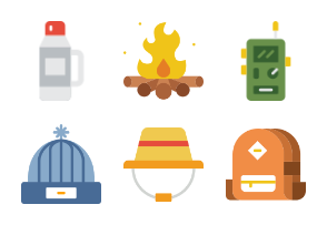 Smashicons Outdoors 2 - Flat