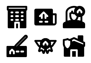 Smashicons Real Estate 2 MD - Solid