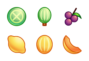 Smooth Colorful Fruits