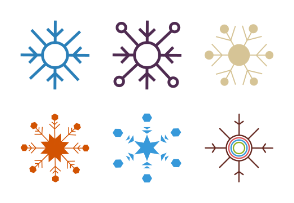 Snowflake Flat Color