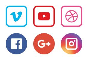 Social media (color)