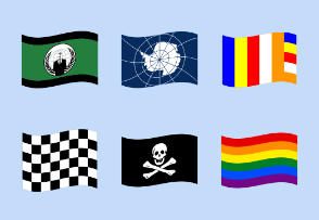 Special Waving Flags