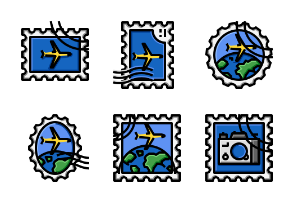 Stamp Filled colour