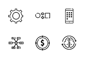 Startup Outline Iconset