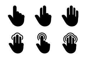 Touch Gestures Vol.1