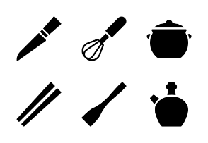 Traditional Kitchenware (Glyph)