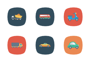 Transport Flat Square Rounded vol 2