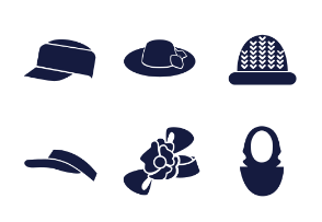 Types of woman hats