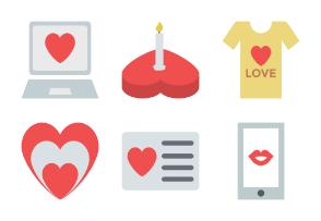 Valentine Colored Icons 2