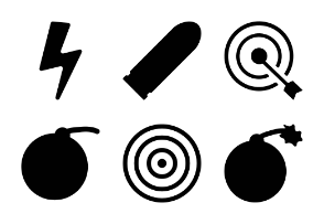 Weapons Solid Icons Vol 1