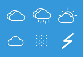 Weather and climate icon