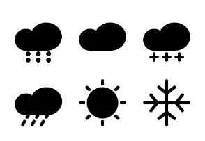 Weather And Forecast  ( Glyph )