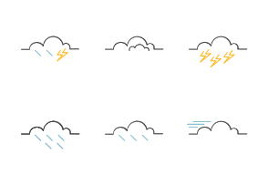 Weather - Outline color